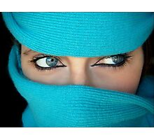 Mysterious glance Photographic Print