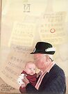 Grandpa and Grandson  by Elaine Bawden