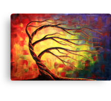 A Glow in the Wind Canvas Print