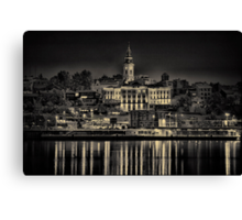 Lights of Belgrade Canvas Print