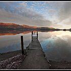 Derwent water jetty by Shaun Whiteman