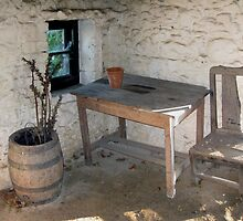 Thatched cottage kitchen by John Quinn