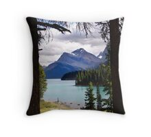 View From Spirit Island Throw Pillow