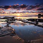 Sunset - Maori Bay by Chris Gin