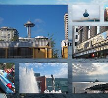 All Around Seattle by Stephanie Exendine