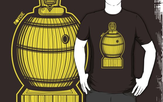 Barrelman Shirt (Version 3) by Ryan Yasutake