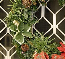 Xmas Wreath by Irena Hayes