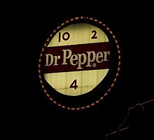 Beloved Dr. Pepper sign in downtown Roanoke, VA by DebbiesDigitals