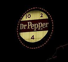 Beloved Dr. Pepper sign in downtown Roanoke, VA by DebbiesDigitals