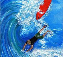 """""""Wipeout"""" - a pre-pro surf happening by pamelaang"""