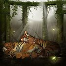 I Love You, Tigers In The Forest Ruins, Chinese New Year by Moonlake