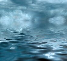 Storm on Blue Water by ChiaraLily