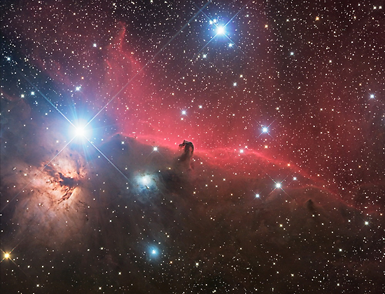 Horsehead Nebula by Phil Hart