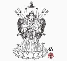 16 Arm Buddha by buddhabubba