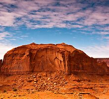 Clouds over Monument Valley by Nickolay Stanev