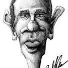 Obama Caricature by liquidnerve