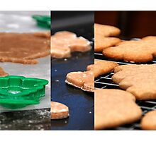 Baking Cookies Photographic Print