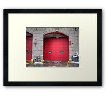 fire house Framed Print