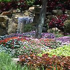 Waterfall Garden by PharrisArt