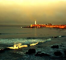 pigeon point lighthouse, NorCal by ThomHull
