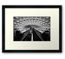 The 5:15.....Right On Time Framed Print