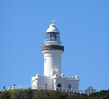 Famous Lighthouse Byron Bay. by Rita Blom