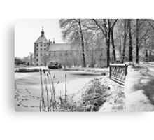 Winterpond Canvas Print
