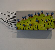 caterpillar - eupakardia moth by suzi krawczyk