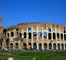 The Colosseum, Italy by patti4glory