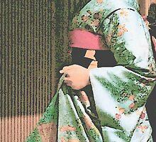 Geisha Detail by Louise Fahy