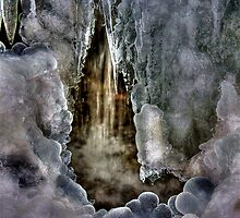 Frozen Waterfall Cave by Tim Wright
