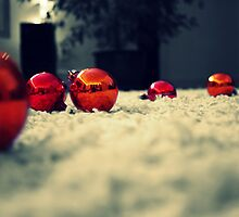 Holiday Baubles - Victoria, BC by Tejana Howes
