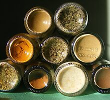 Stacked Spices by Esther's Art and Photography