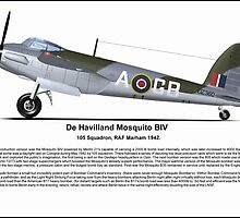 De Havilland Mosquito BIV by coldwarwarrior