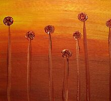 Flame Flowers by Sarah Donoghue
