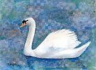 Mute Swan by arline wagner