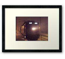 Blizzard Trains - AEM-7  © 2009 Framed Print