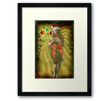 Ms. Claus Framed Print