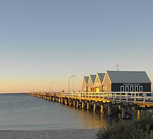 Busselton Jetty at Dusk by Julia Harwood