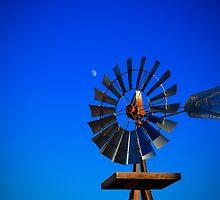 Windmill Moon by Bob Larson