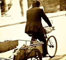One man, his bike and his bell by Ruben D. Mascaro