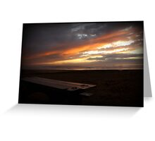 Holiday Sunset - Grover Beach, California Greeting Card