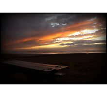 Holiday Sunset - Grover Beach, California Photographic Print