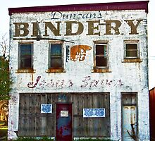 Duncan's Bindery by Tia Allor