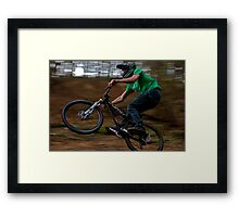 Yeti 2010 Dirt Jumper Framed Print