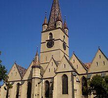 Catedrala Evanghelica Sibiu (Sibiu Lutheran Cathedral) by yellowAlien