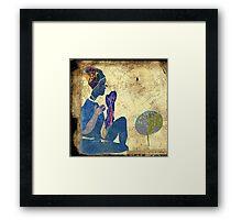 a whisper for mother nature Framed Print