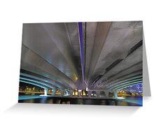Under The Narrows Bridges  Greeting Card