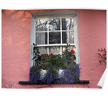 Bunratty Folk Park window Poster