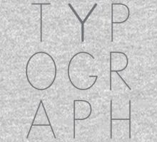 Typography by sjaros